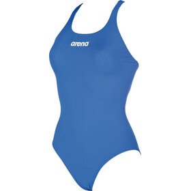 arena Solid Swim Pro One Piece Swimsuit Dames, royal-white